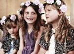 Bridesmaids Sylva, Lily-Mae and Lola