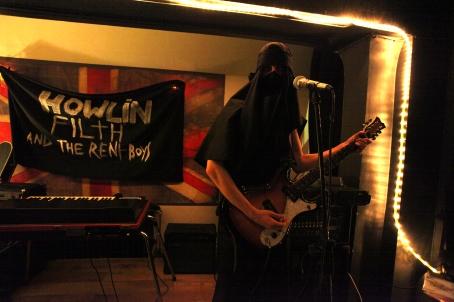 Burqa busking