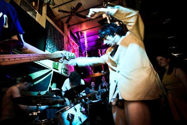 Lias drums, ( Mr Winkie hangs out ) Fat White Family