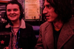 Holly Whitaker and Lias Saoudi in The Shed at The Windmill.